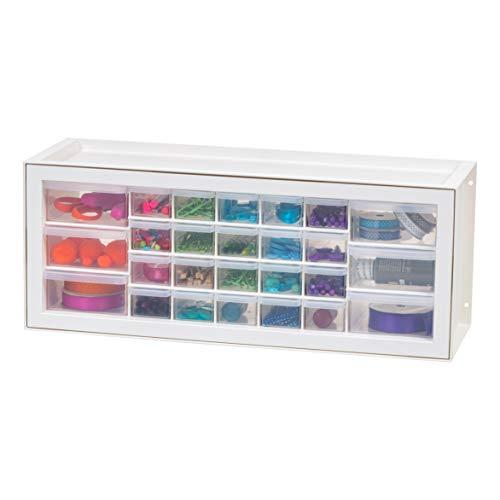 IRIS USA Drawer Small Parts Organizer-Sewing and Craft Supplies Storage Cabinet,...