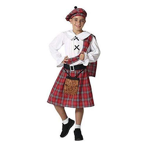 ATOSA disfraz escoces nio infantil 10 a 12 aos