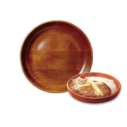 びっくりドンキー ディッシュ皿 直径約27cm 木皿