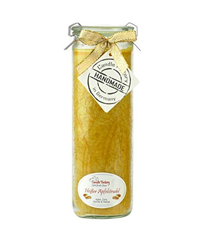 Big Jumbo Vela Perfumada Weck Candle Factory: caliente manzana espirales