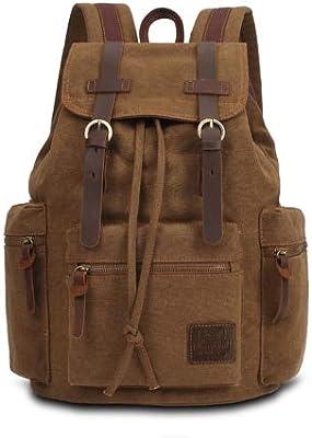 Vintage Backpack Fashion Canvas Leisure Travel School Bags UniLaptop Backpacks Men Mochilas