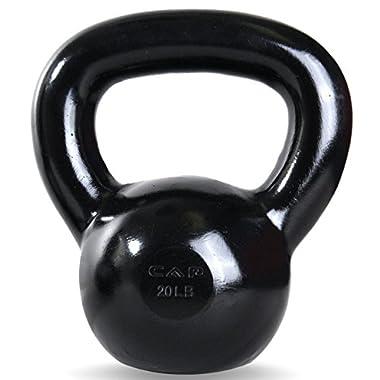 CAP Barbell 20 -Pounds Kettlebell