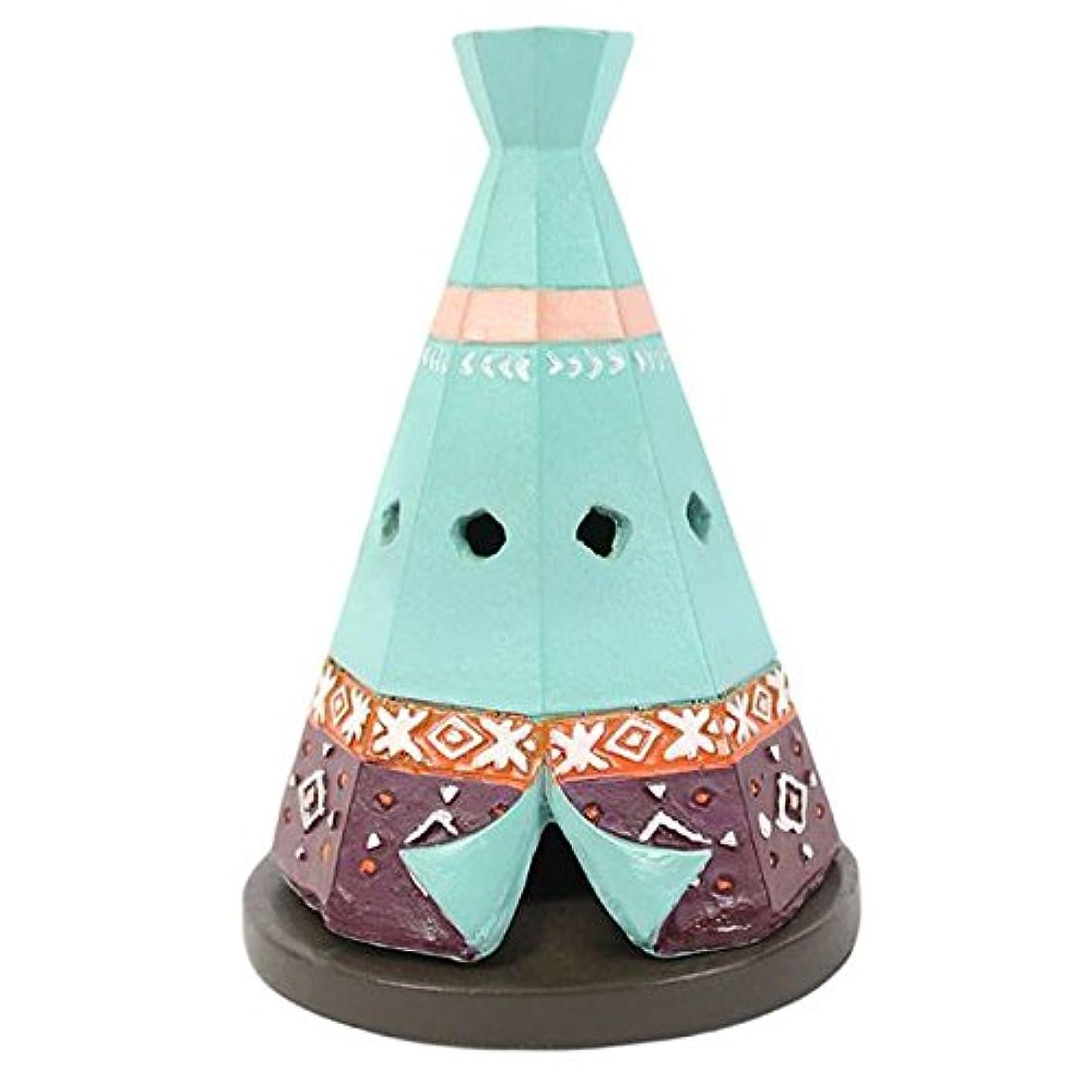 どれか冷凍庫先Teepee / Wigwam Design Incense Cone Holder