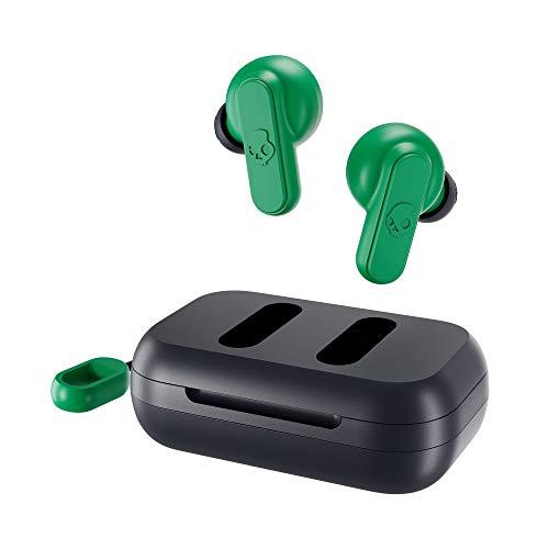 Skullcandy Dime True Wireless In-Ear Earbuds (Dark Blue/Green)