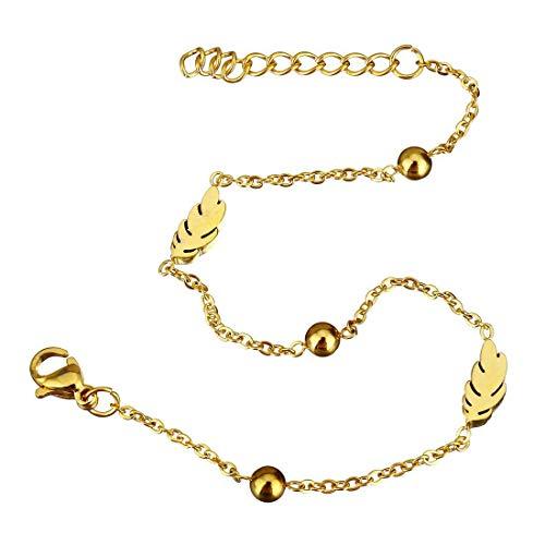 classement un comparer Un bracelet ovale en métal massif plaqué or avec ressorts et rallonges…