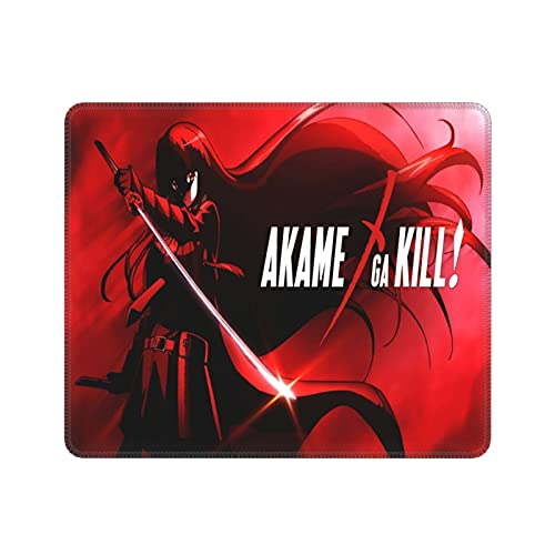 Akame ga Kill!.Akame Mouse Pad Anime Gaming Waterproof Non-Slip Laptop Mouse Pad 10x12 in