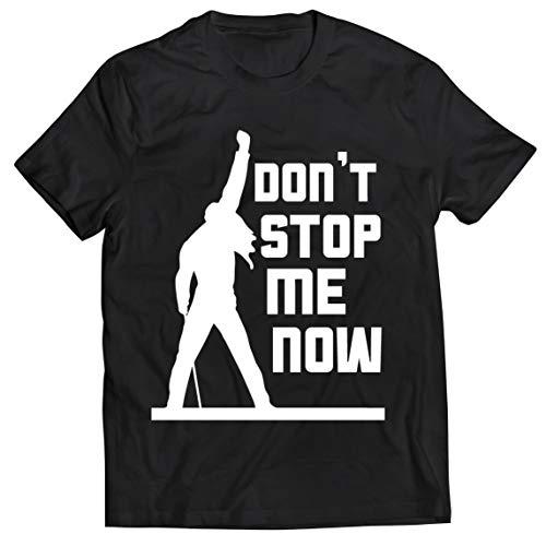 lepni.me Männer T-Shirt Don't Stop me Now! Fan Shirts, Musiker Geschenke, Rock Kleidung (X-Large Schwarz Mehrfarben)