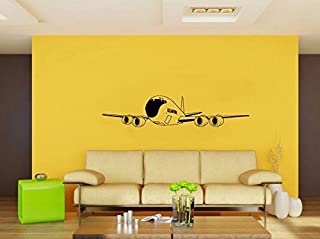 Boeing KC-135 Stratotanker US Air Force Airplane Silhouette Vinyl Wall Decal Sticker