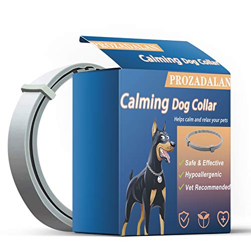 Beruhigendes Hundehalsband, Verstellbar & Wasserdicht Halsband lindert effektiv die Angst des Hundes, Sicher und Ungiftig, Körperliche und Geistige Gesundheit von Hunden.