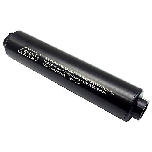 AEM 25-201BK High Volume Fuel Filter
