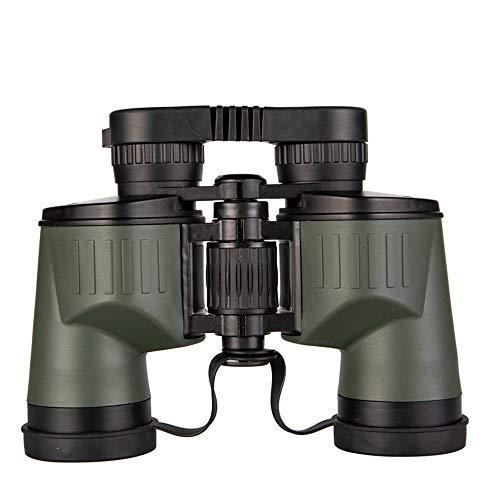 DKEE 8X40 Weitwinkel-Fernglas HD High Definition BAK4, Waterpoof FMC Green Objektiv for Angeln Wandern Vogelbeobachtung Cruise Army Grün (Farbe : Army Green)