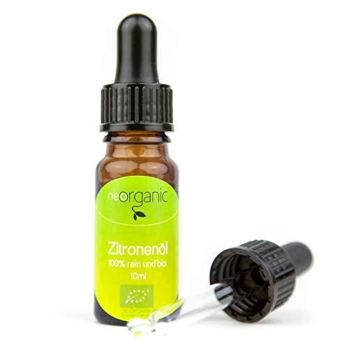 Bio-Zitronenöl (Citrus Limon) 100% naturreines ätherisches BIO-Öl – 10ml