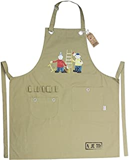 Apron Unisex Light Brown one Size