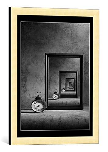 Kunst für alle - Póster decorativo con marco (45 x 60 cm), diseño de Victoria Ivanova la Eternidad