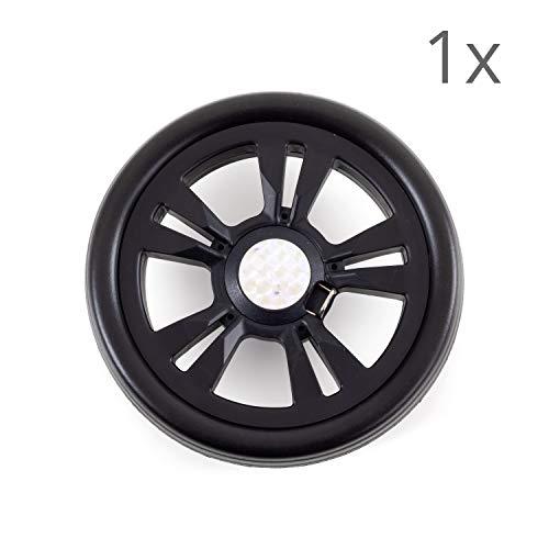 Andersen Ersatzrad für Scala Einkaufstrolley, Ø 150 mm, schwarz
