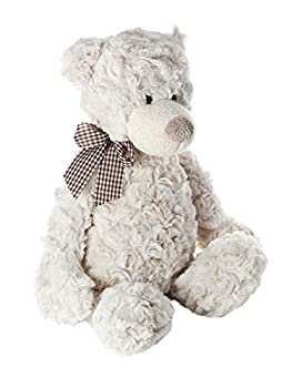 Mousehouse Gifts Cute Super Soft Stuffed Animal Beige Teddy Bear Plush Toy Teddies for Baby Kids Boys Girls 14 inches