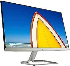 2021 HP 24f 23.8 Inch LED Monitor| FHD (1920 x 1080) IPS Display| AMD FreeSync| Silver (HDMI & VGA Port) + NexiGo 4K HDMI Cable Bundle