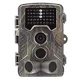 WYYHAA 4G Wildkamera Fotofalle mit Bewegungsmelder/ 16MP 1080P HD-Hinterkamera 42Pcs 940Nm IR-LEDs Und IP56 Wasserdicht 0,5S Trigger-Geschwindigkeit Für Wildlife-Monitoring