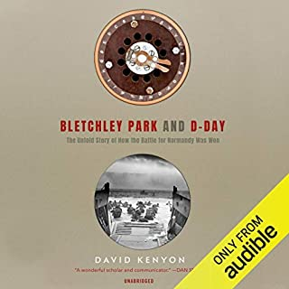 Bletchley Park and D-Day audiobook cover art
