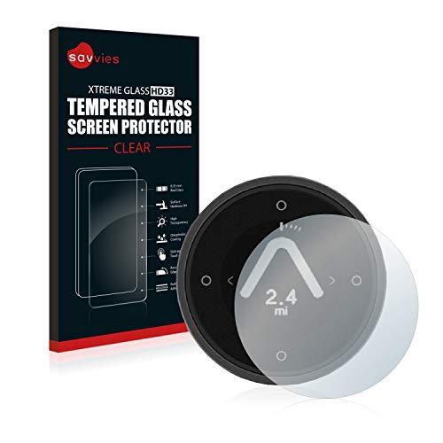 Savvies Panzerglas kompatibel mit Beeline Moto - Echt-Glas, 9H Festigkeit, Anti-Fingerprint
