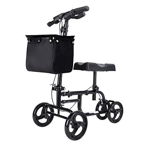Meet World Lenkbare Knie Walker Deluxe Medical Scooter Für Fußverletzungen Compact Krücken