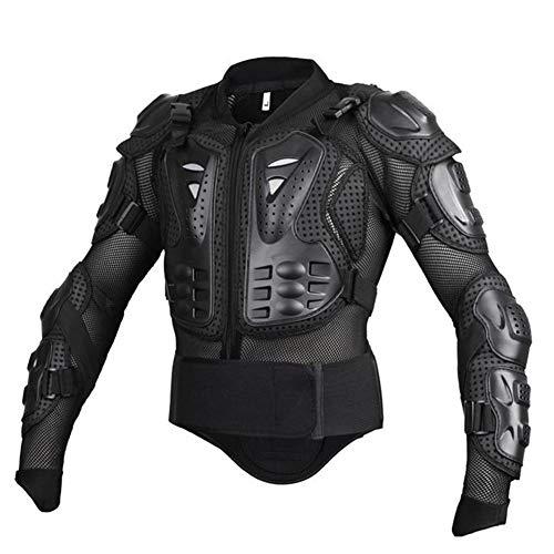 Motocross Body Armor Dirt Bike Motocicleta Full Armor Ropa Equipo de protección Guard MTB ATV Racing Shirt Chaqueta Protector con protección para la Espalda en el Pecho para Hombres
