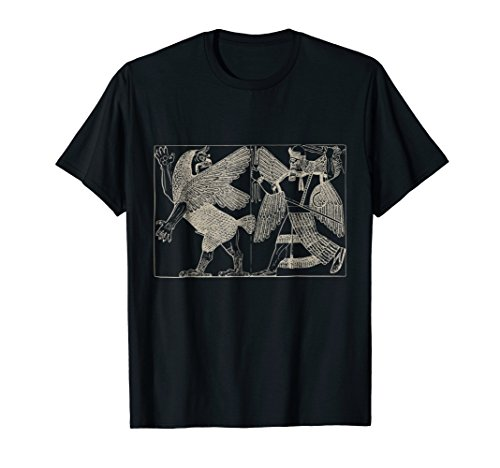 Assyrian Sumerian Mythology Enlil Marduk Tiamat T Shirt