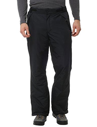Ultrasport Herren Pants funktions-ski-/Snowboardhose, Schwarz, M