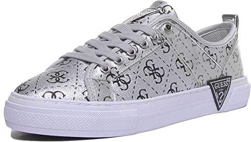 Guess GOLDYN Sneakers Donne Argento - 40 - Sneakers Basse