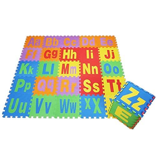 GFFTYX Bébé décoration Chambre Kids Play Mat Multi-Color Puzzle Mat Mousse Accise Safe Floor Tapis de Jeu Idéal pour Les Enfants pour Apprendre et Jouer (Color : Style - 2)