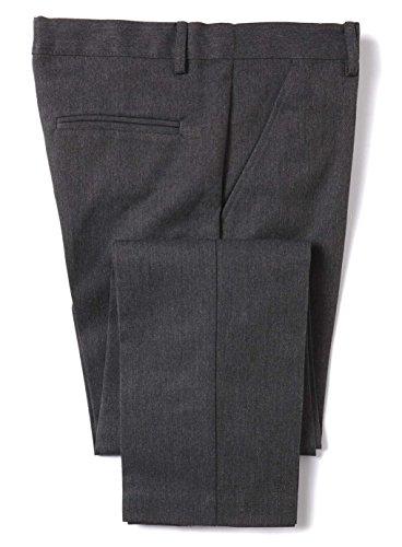 Banner Slimbridge - Pantaloni da scuola slim fit, da ragazzo Grigio 32W x 30L