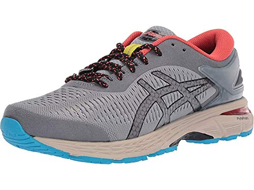 ASICS - Mens Gel-Kayano 25 Shoes, 6.5 UK, Stone Grey/Black