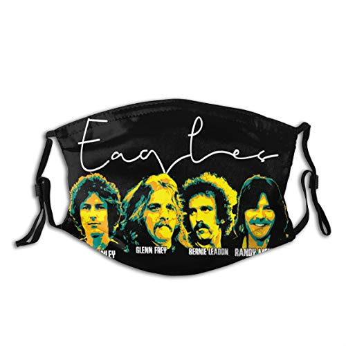 Beastory Joe Walsh Mask Multifunction Face Shield Bandanas for Dust,Outdoors