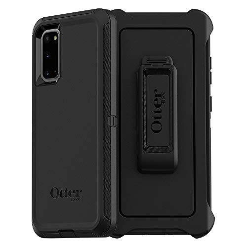 Photo of OtterBox Defender Series Case for Samsung Galaxy S20, Rugged Protection – Black (77-64187)