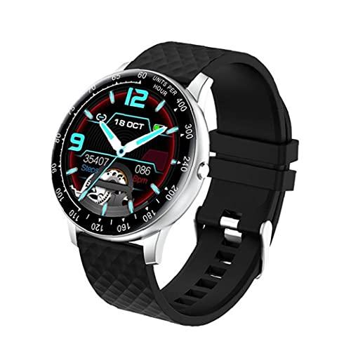 Runfon Reloj Elegante H30 del perseguidor del Reloj del Reloj del Deporte del perseguidor Actividad Pulsera con la presión Arterial del Ritmo cardíaco Hombres Mujeres Astilla