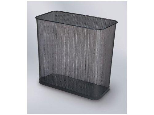 Preisvergleich Produktbild Papierkorb Draht rechteck.28 L schwarz 41x22x35