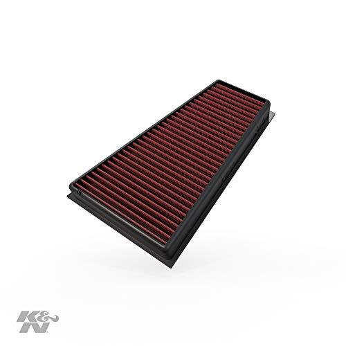 K&N 33-2995 Motorluftfilter: Hochleistung, Prämie, Abwaschbar, Ersatzfilter, Erhöhte Leistung, 2012-2019 (CLA180, CLA200, GLA250, A160, A180, A200, A250, B160, B200, B250, Q30, QX30)
