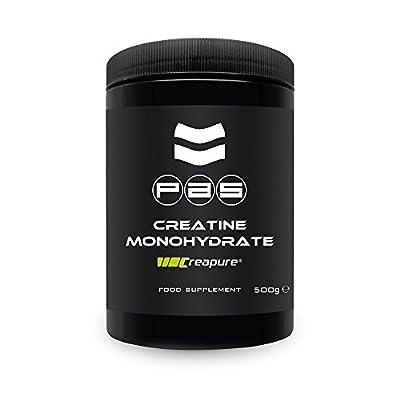 Pro Athlete Supplementation 530 g Creapure Creatine Monohydrate Powder from Pro Athlete Supplementation