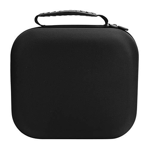 banapoy Bolsa Protectora para Auriculares, Estuche Negro para Almacenamiento de Auriculares, Material de Nailon para Exteriores