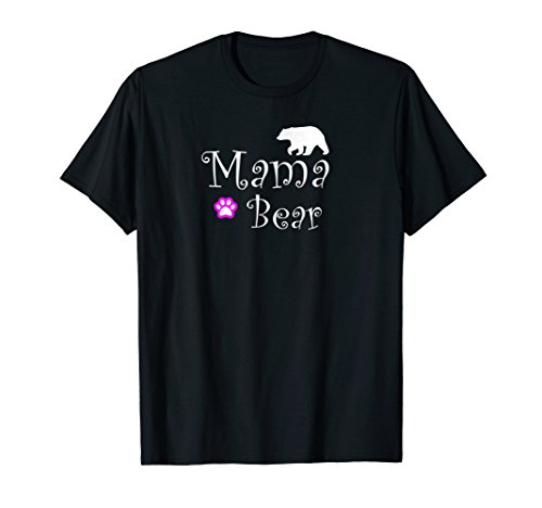 Mama Bear T Shirt for Women and Moms Plus Size & Prime