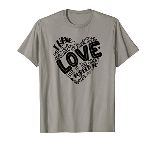 Free To Be Kids Stick With Love Shirt, Quote Shirt, Hearts