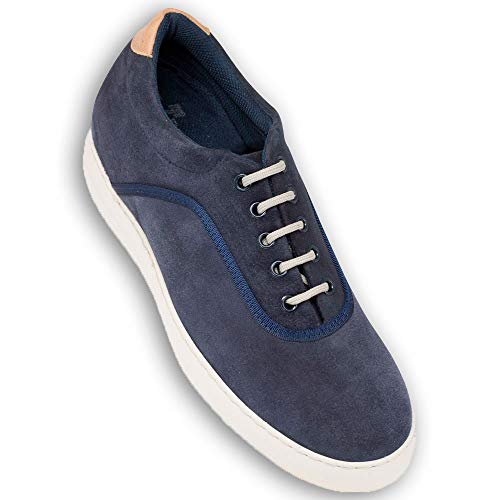Masaltos Zapatos con Alzas para Hombre. Aumentan Altura hasta 6 cm. Modelo Brooklyn