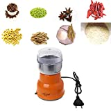 WEISHAZI molinillo eléctrico de acero inoxidable para café y frijoles de cocina 220 V