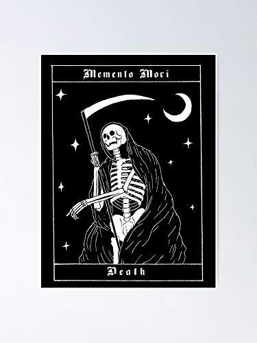 AZSTEEL Memento Mori - Death Poster Poster 11.7 * 16.5