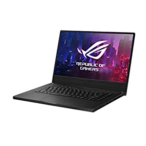 "ROG Zephyrus G15 (2020) Ultra Slim Gaming Laptop, 15.6"" 144Hz FHD, GeForce GTX1660Ti with Max Q Design, AMD Ryzen 7 4800HS, 16GB DDR4, 512GB PCIE SSD, Windows 10 Pro, GA502IU-XS74"