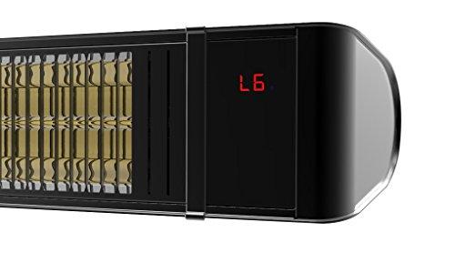 Infrarotstrahler HeizMeister LuXus Professionell schwarz, steuerbar über Smartphone oder Fernbedienung - 2