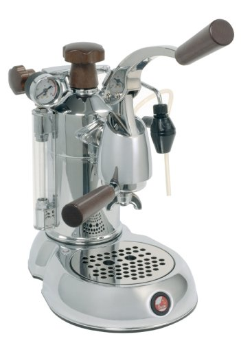 la Pavoni Stradivari SPH Independiente Máquina espresso Cromo 1,6 L 16 tazas Semi-automática - Cafetera (Independiente, Máquina espresso, 1,6 L, De café molido, 1000 W, Cromo)