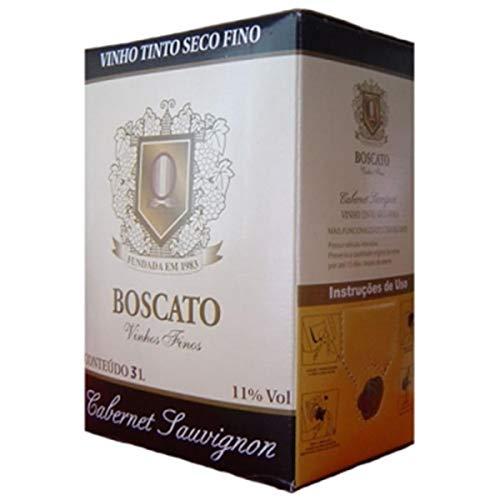 Vinho Boscato Cabernet Sauvignon Bag in Box 3 litros