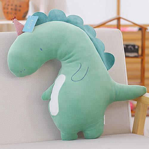 WGOO Pillow Weiche Plüschtier Dichtung Spielzeug Tier Plüsch Kissen für Kinder,Weiches Tierform-Plüschkissen,Umarmungspuppenausgangsdekoration,Dinosaurier,50CM