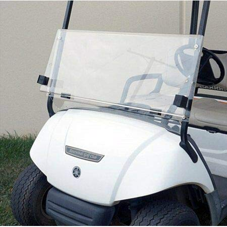 ECOTRIC G29 Drive Clear Windshield for Yamaha Golf Cart (2007-2016) | Folding Down Clear Windshield for Yamaha Drive G29 Gas or Electric Golf Cart (07-16)…